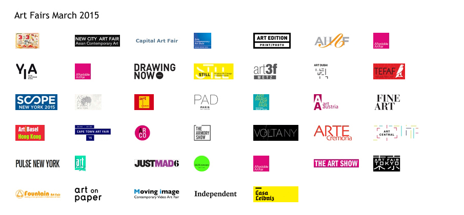 art fairs in March 2015