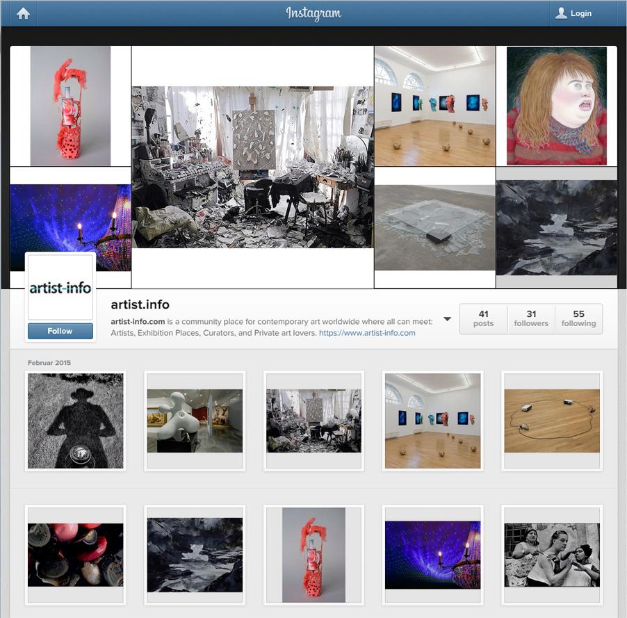 instagram.com/artist.info