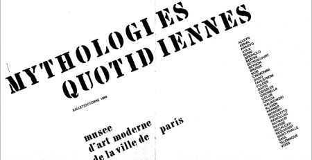'Mythologies quotidiennes', 1964