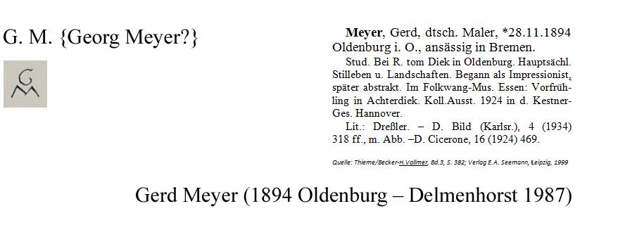 G.M. - Gerd Meyer