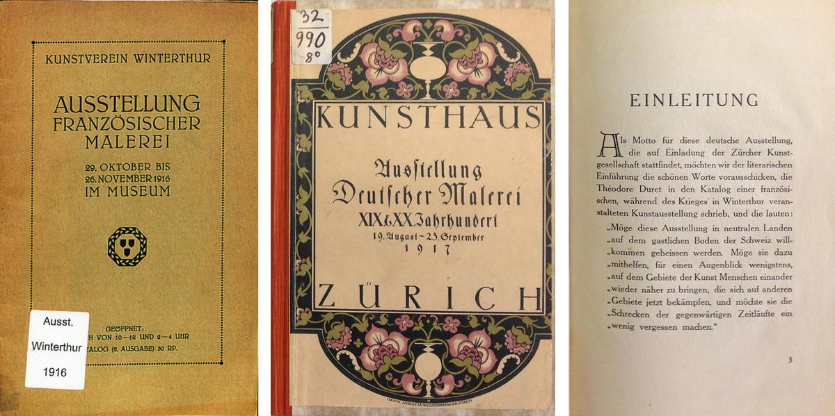 'Ausstellung Deutscher Malerei XIX. und XX. Jahrhundert', 19.08. – 23.09.1917, Kunsthaus Zürich