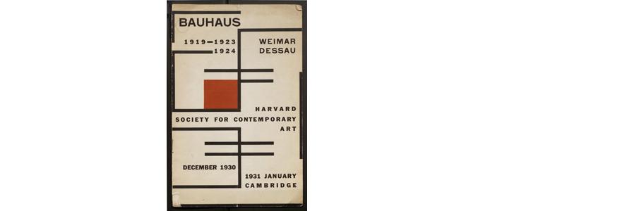 Havard Society for contemporary Art - Bauhaus 1930